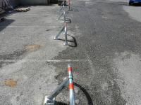 Pose d'arceau de parking (bock parking) dernièrement à Magnes sur Mer dans copropriété