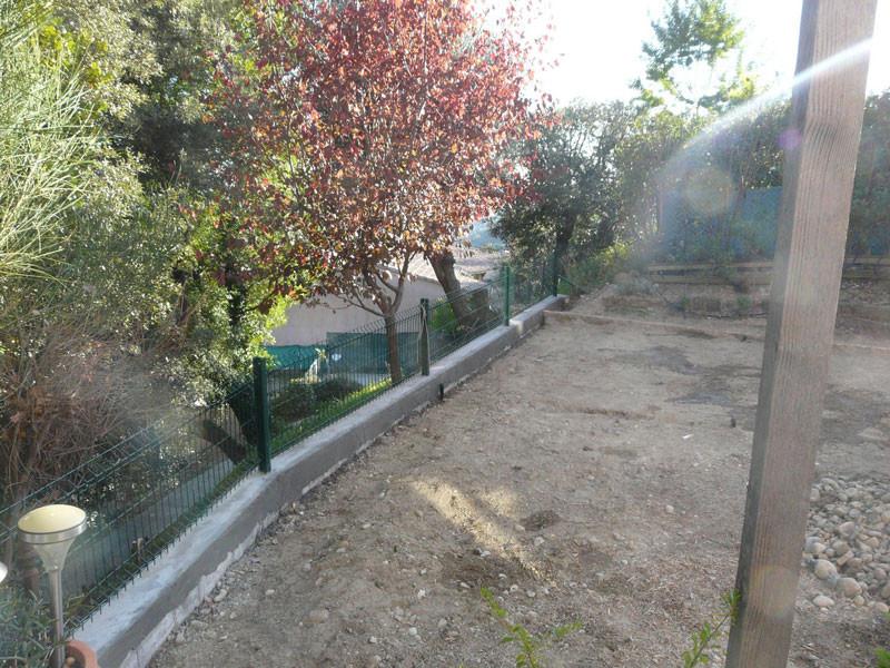 Cl ture jardin grillage brise vue paysagiste st laurent for Entreprise jardin 78